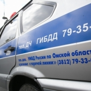 В Омске водитель без прав пытался скрыться от погони в супермаркете