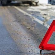 В Омске маршрутка сбила женщину на пешеходном переходе
