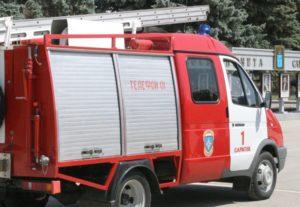 В Омской области роддом чуть не сгорел из-за поджога мусора