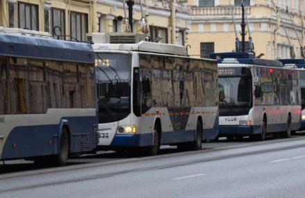 В Омск прибыли новые троллейбусы «Адмирал»
